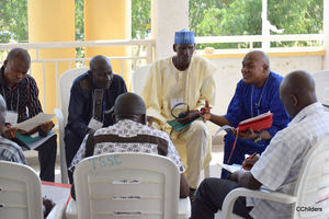 Men gather in Nigeria to discuss peace