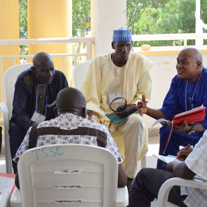 Men gather in Nigeria to discuss peace