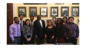 Interns met with Rep. Clyburn