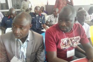 Attendees at a peacebuilding training in Nigeria.