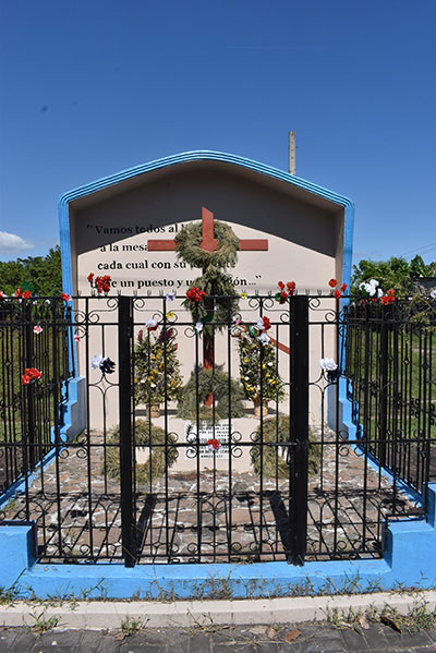 Site of asssination of Rutillo Grande