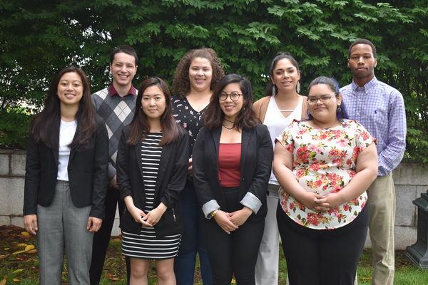 EYA interns at Church and Society