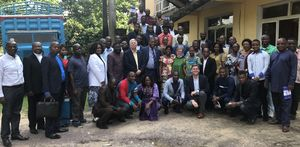 Church and Society delegation with DRC UMs