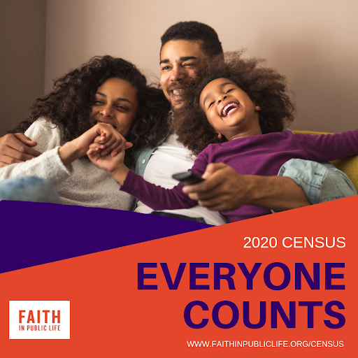 Census family image 2020 everyone counts
