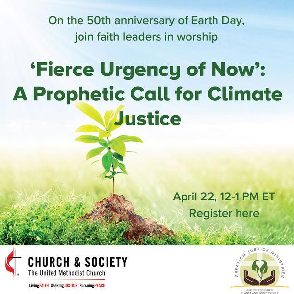 Earth Day 2020 worship