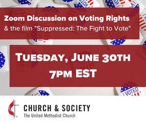 Suppressed Right to Vote film