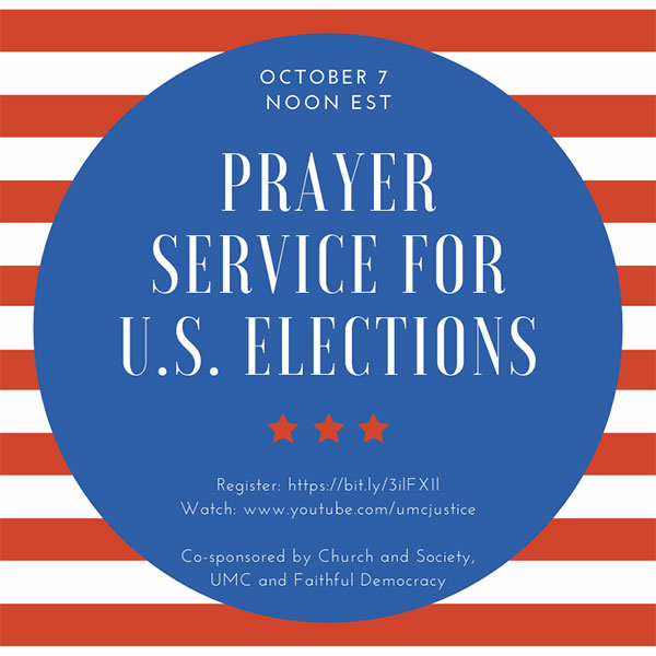 interfaith prayer service for elections