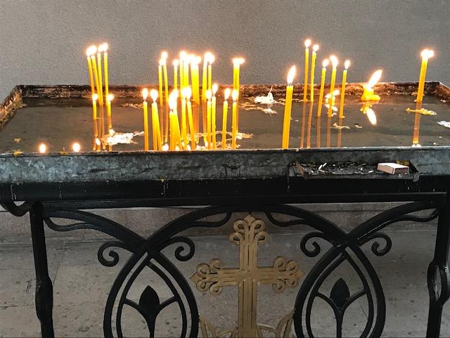 armenia church candles