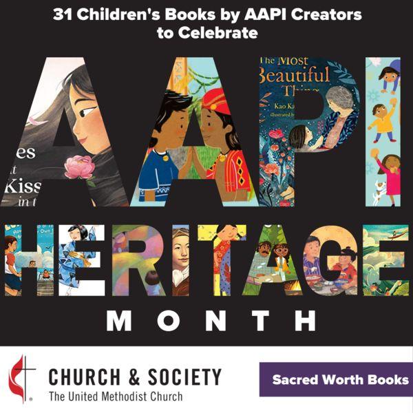 sacred worth children's books AAPI month
